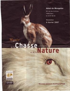 affiche musée de la chasse