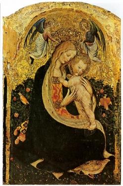 Madonne à la caille, Pisanello