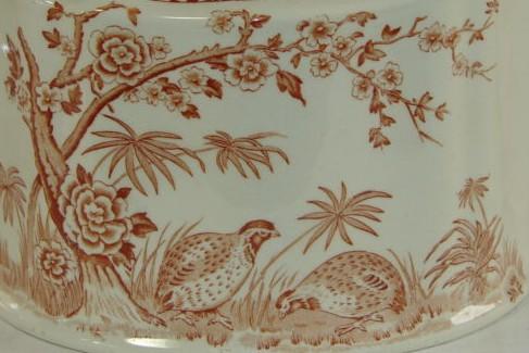 détail théière, furnival quail