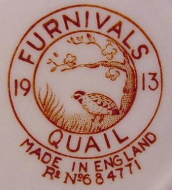 furnival quail, sceau détail