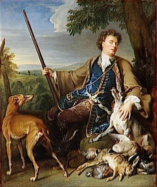 Alexandre françois desportes, portrait artiste