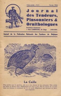 journal tendeurs, pinsonniers et ornithologues