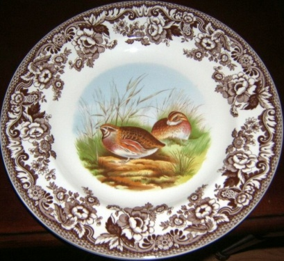 assiette collection spode woodland