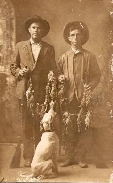 chasseurs de cailles
