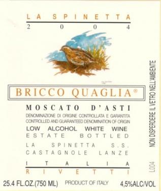 vin italien moscato d'asti