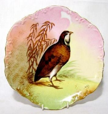 assiette porcelaine limoges, coronet