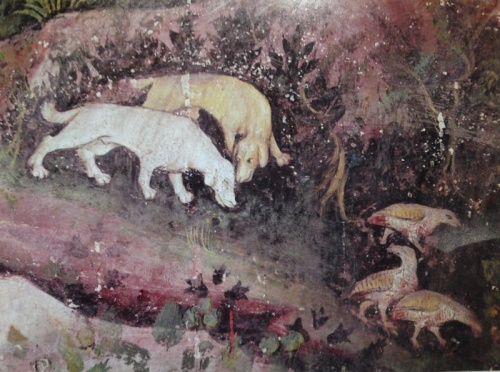 détail fresque chateau buonconsiglio, trente [800x600]
