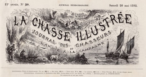 couverture chasse illustree